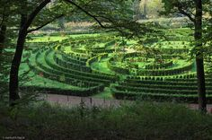 Racibórz.Zaczarowany Ogród w lesie Obora