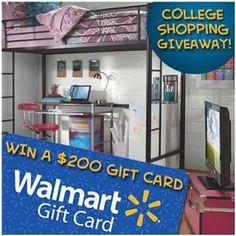 Win $200 Walmart GC
