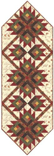 MAPLE-ISLAND-TABLE-RUNNER-QUILT-KIT-Pattern-Moda-Fabric-Holly-Taylor