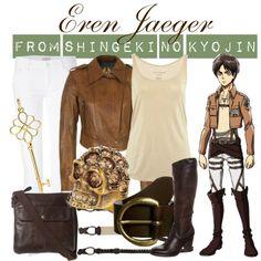 """[Shingeki no Kyojin] Eren Jaeger"" by animangacouture on Polyvore  www.otakucouture.com"