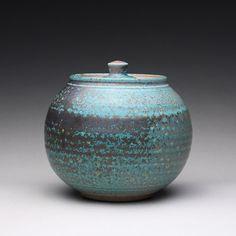 handmade cookie jar pottery lidded jar ceramic by rmoralespottery