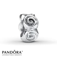 Roses Spacer Sterling Silver