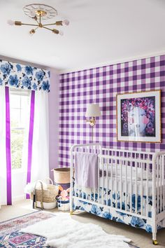 New Baby Bedroom Girl Purple Project Nursery 21 Ideas Baby Room Boy, Baby Bedroom, Nursery Room, Girls Bedroom, Baby Rooms, Girl Nursery, Kids Rooms, Baby Room Themes, Baby Room Colors