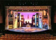 The Music Man. Maltz Jupiter Theatre. Scenic design by Paul Tate dePoo III. 2012