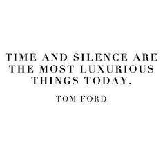 csend, idő, luxus