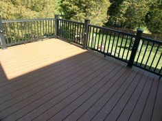 spanish Deck Railing Styles | ... : Black Radiance Rail by TimberTech - NADRA Gallery of Deck Pictures