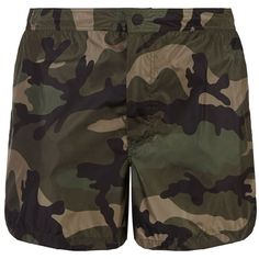5b387cf7a6 Valentino Camo Print Swim Shorts ($400) ❤ liked on Polyvore featuring men's  fashion, men's clothing, men's swimwear, mens camo swimwear and camouflage  swim ...