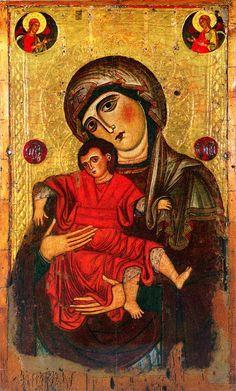 Icona della madonna-delle-vittorie