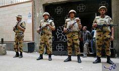 القوات المسلحة تبدأ نشر وحداتها لتأمين الكنائس…