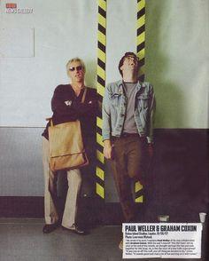Paul Weller and Graham Coxon