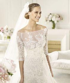 Mooie romantische trouwjurk van Elie Saab