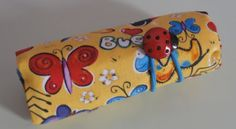 Bugs Crayon Roll  Holds 816 Crayons by EmmisOwls on Etsy, $5.00