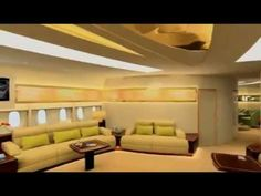"""VIP A380 cabin """"flying palace"""" - YouTube"""