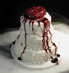 We'll have cake alright... a ZOMBIE cake!