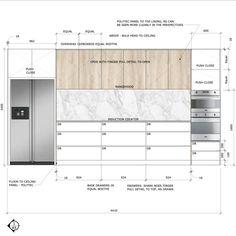 Kitchen Room Design, Home Room Design, Kitchen Interior, House Design, Interior Design Sketches, Interior Design Resources, Interior Design Portfolios, Interior Design Presentation, Presentation Boards