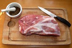 Schweinenacken Selber Räuchern - So geht's! Steak, Grilling, Pork, Food And Drink, Beef, Homemade, Snacks, Fire, Corona