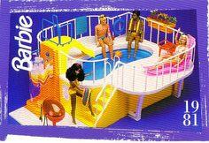 1980s Barbie Dream Pool