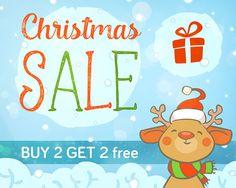 CHRISTMAS SALE / Pre-Christmas Sale / Buy 2 get 2 Free! Christmas Stickers for Sale Printable planner stickers Erin Condren Planner Stickers