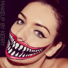 Big Smile #halloween #facepaint #smile #ideas | Halloween Makeup ...