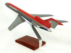 B727-200 Northwest - Premium Wood Designs #Commercial #Aircraft premiumwooddesigns.com