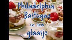 Philadelphia Cheesecake met Bastogne in een glaasje