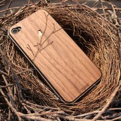 Wooden iphone / ipad covers...love these!