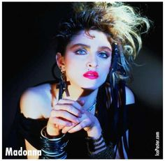 madonna 80s makeup - Google Search
