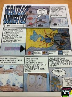 Teaching in Room 6: Summarizing Non-Fiction Text....with a Comic Strip!