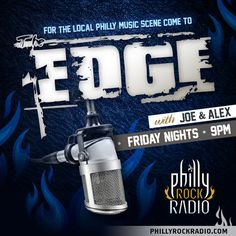 The Edge with Joe & Alex airs on PhillyRockRadio.com Friday nights at 9pm est