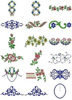 Free Janome Patterns Jef | 18 set Table and Bedding Linen Embroidery Design
