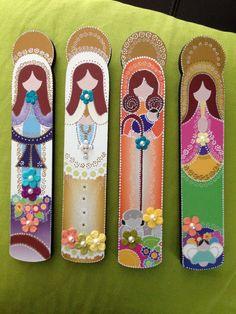 Virgenes. Milagrosa Virgen del Valle Divina por CGrisantiDesign, $16.00 Crafts For Kids, Diy Crafts, Country Paintings, Wooden Decor, Altered Art, Creative Art, Farmhouse Decor, Christmas Diy, Decoupage