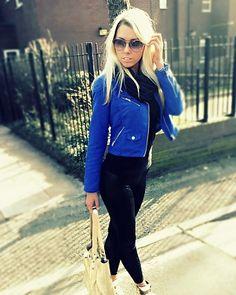 Jacket - pop of colour