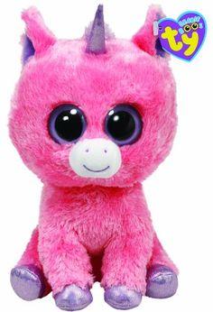 Pink beanie boo unicorn Ty Beanie Boos 662491589cbb
