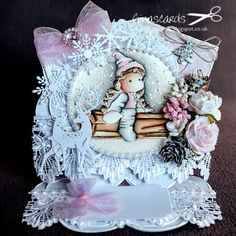 Gina's Cards: New Challenge at Lovely Hanglar or Sweet Magnolia ...