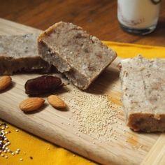 Quinoa Tahini Bars