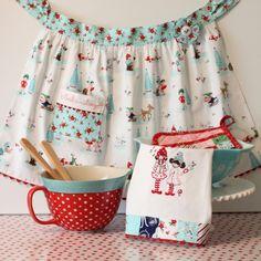 TaDa! Creations - day 3 of Tasha Noel's Pixie Noel fabric Blog Hop for Riley Blake Designs