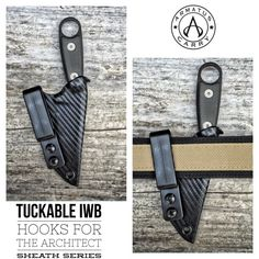 ESEE Candiru Architect Sheath - Armatus Carry Solutions - Custom Kydex Sheaths and Concealment Holsters, Home of the Vita EDC Kydex Wallet Kydex Sheath, Knife Sheath, Kydex Holster, Concealment Holsters, Edc Gadgets, Edc Gear, Fixed Blade Knife, Knives And Tools, Concealed Carry
