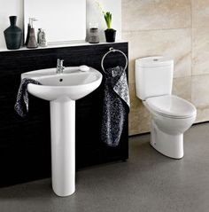 Fitted bathrooms, Bathroom fixtures and Bathroom on Pinterest