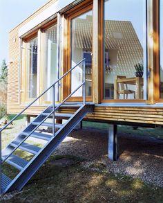 modulbauweise bei wohnhaus owa pinterest erweiterungen kleines h uschen und architektur. Black Bedroom Furniture Sets. Home Design Ideas