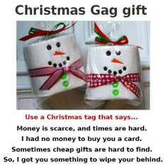 BEST Christmas gag gift! find more at http://www.facebook.com/pages/Mama-Needs-A-Time-Out/161256397352646