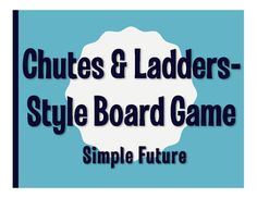 Are you looking for ways to get your kids interacting in partners or small groups? Then this is for you! This Chutes & Ladders-style board game can be used for 2-6 players.  Students work their way through the board, taking advantage of ladders to skip forward and avoiding chutes that send them backward!