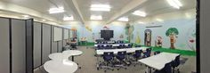 A school in Tacoma recently purchased some of our partitions to help divide space easily and effectively for classroom discussion.