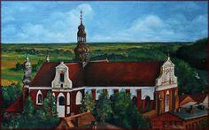 Koronowo, miasto w Polsce. To kościół poklasztorny opactwa Cystersów, jego budowę rozpoczęto w 1289 roku.