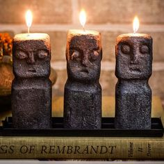 A Tiki Candle For Your Indoor Or Outdoor Bar Unique Gifts