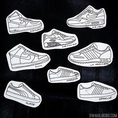 Karl @karlheartland tattoo these so hit him up or call 08335310 #sneakers #tattoodesign