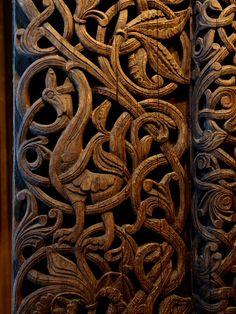 Viking Wooden Art / Nordic Museum of Oslo