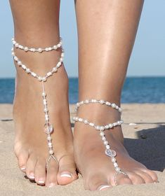 14k Yellow Gold over Sterling Silver Vermeil Snake Foot Chain Anklet Ankle Bracelets