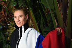 Maria Sharapova Off Court at the Australian Open