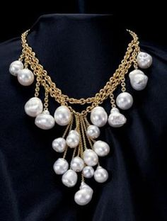 Baroque Pearl Necklace pearl