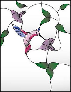 Free Wildlife Stained Glass Patterns | free stained glass pattern resource hosted by Down East Stained Glass ...